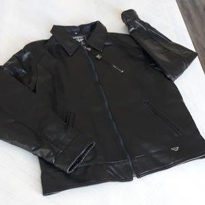 Men's XL Italian leather jacket